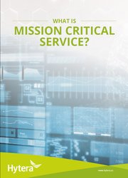 What Is Mission Critical Service